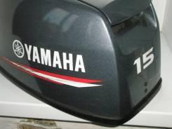 Yamaha. 15,00л.с., 2х тактный, бензин, нога S (381 мм), Год: 2012 год