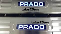 Порог пластиковый. Toyota Land Cruiser Prado, GDJ150L, GRJ151, GDJ150W, GRJ150, GDJ151W, GRJ150L, TRJ150, KDJ150L, GRJ150W, GRJ151W, TRJ150W