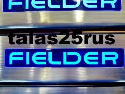 Порог пластиковый. Toyota Corolla Fielder, NZE141G, ZRE144G, ZRE142, ZRE142G, ZRE162, NZE144, NZE144G