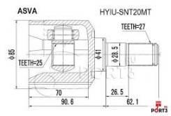Шрус подвески. Hyundai Sonata