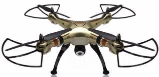 Квадрокоптер Syma X8HW с барометром и WiFi камерой + SD карта. Кредит!