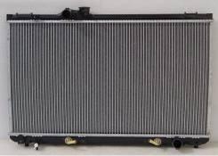Радиатор охлаждения двигателя. Toyota Cresta, JZX100, JZX101, JZX105 Toyota Mark II, JZX105, JZX100, JZX101 Toyota Chaser, JZX105, JZX101, JZX100 Двиг...