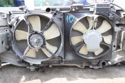 Радиатор охлаждения двигателя. Toyota Carina, ST215 Двигатель 3SFE