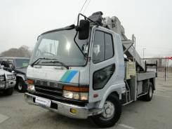 Mitsubishi Fuso Fighter. MMC Fuso Ямобур, Автобуровая, Буровая, кран Aichi 706, ПТС таможня, 8 700 куб. см., 5 000 кг.