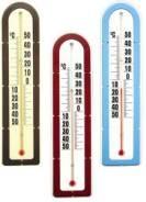 Термометры фасадные.