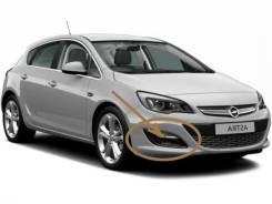 Заглушка бампера. Opel Astra, P10
