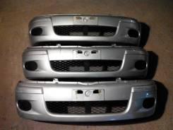 Бампер передний Toyota Funcargo 2002-2005 серебро