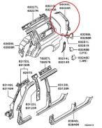 Панель кузова. Mitsubishi Nativa Mitsubishi Challenger, K99W, K94WG, K94W, K97WG, K96W Mitsubishi Pajero Sport Mitsubishi Montero Sport