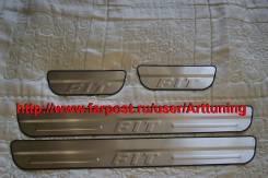 Порог пластиковый. Honda Fit, GP1