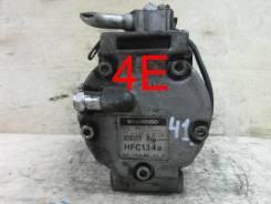 Компрессор кондиционера. Toyota Starlet, EP91 Двигатели: 4EF, 4EFTE, 4EFE