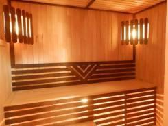 Баня деревянная модульная с печью купить баня-бочка цена Комсомольке. Под заказ