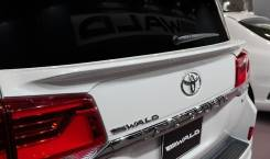 Спойлер на заднее стекло. Toyota Land Cruiser, VDJ200, URJ202W, URJ202. Под заказ