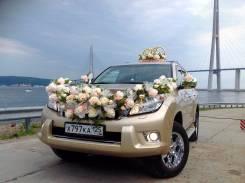 Джип Prado на свадьбу+кортеж из 3х авто одно цв(золото+2а автоб 13мест. С водителем