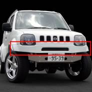 Бампер. Suzuki Jimny, JB33W, JB43W Suzuki Jimny Sierra, JB43W Suzuki Jimny Wide, JB33W, JB43W. Под заказ