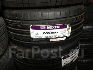 Nexen N6000. Летние, 2012 год, без износа, 4 шт