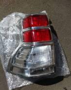 Хромированные накладки на стоп-сигнал для Prado 150 (2009-2013). Toyota Land Cruiser Prado, GDJ150L, GRJ151, GDJ150W, GRJ150, GDJ151W, GRJ150L, TRJ150...