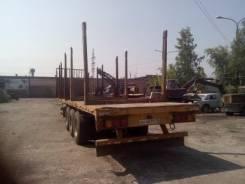 Schmitz. Лесовозный полуприцеп, 37 000 кг.