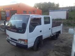 Isuzu Elf. Продам грузовичёк двухкобинник, 3 100 куб. см., 1 500 кг.