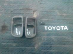 Накладка на ручку двери внутренняя. Toyota Cresta, GX100 Двигатель 1GFE