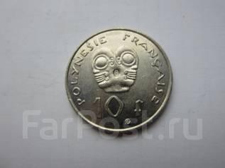 Французская Полинезия 10 франков 2002 года.