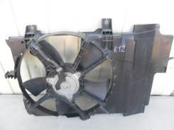 Вентилятор охлаждения радиатора. Nissan March, BK12, AK12