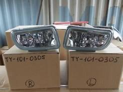 Фара противотуманная. Toyota Caldina, ST215, ST210 Двигатели: 3SGTE, 3SGE, 3SFE