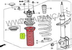 Пыльник амортизатора. Honda Stream, DBA-RN8, DBA-RN9, DBA-RN7, DBA-RN6 Honda CR-V, DBA-RE3, DBA-RE4 Honda Crossroad, DBA-RT1, DBA-RT3, DBA-RT2, DBA-RT...