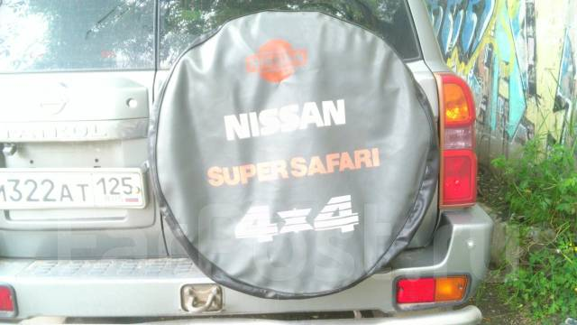 чехол на запасное колесо nissan patrol