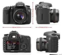 Canon EOS 7D Body. 15 - 19.9 Мп