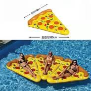 "Ультрамодный надувной матрас ""Пицца""."