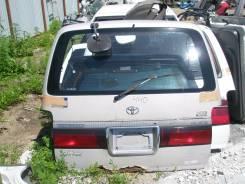 Дверь багажника. Toyota Hiace Toyota Regius Ace, KZH106, RZH101, KZH100, KZH110, KZH116 Двигатели: 2RZE, 1KZTE