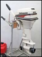 Johnson. 9,90л.с., 2х тактный, бензин, нога S (381 мм), Год: 1997 год