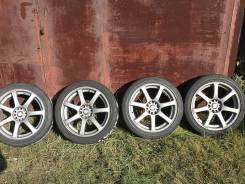 Work Emotion XT7. 7.5x18, 5x114.30, ET48, ЦО 73,0 мм.