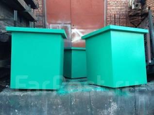 Контейнер, бак для мусора, мусорный контейнер, для ТБО во Владивостоке