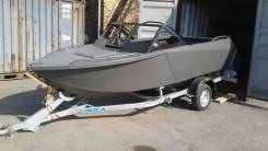 Продам алюминиевые лодки новые Север 4800. Год: 2015 год, длина 4,80м., двигатель подвесной, 60,00л.с., бензин. Под заказ