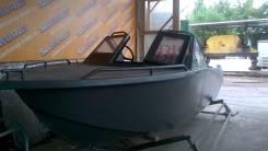 Продам алюминиевые лодки Север 4800 новые. Год: 2015 год, длина 4,80м., двигатель подвесной, 60,00л.с., бензин. Под заказ