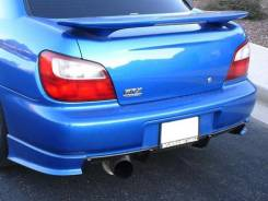 Спойлер. Subaru Impreza, GDB