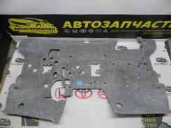 Шумоизоляция моторного щита со стороны салона Mitsubishi ASX GA2W 4B10