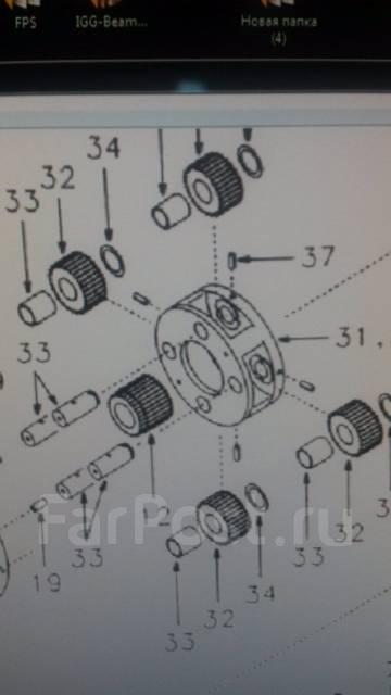 Шестерня. Volvo: V40, V60, XC70, S80, XC60 Двигатели: B4202T21, B4204T21, D5244T21, D5244T10, B5254T10
