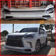 Обвес кузова аэродинамический. Lexus LX450d Lexus LX570, URJ201W