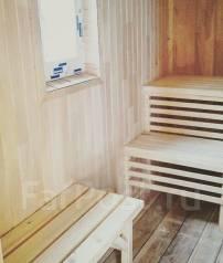 Баня деревянная с отделкой и печью (проект). до 100 кв. м., 1 этаж, 3 комнаты, каркас