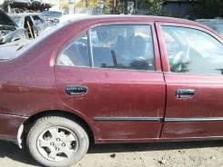 Дверь  задняя правая  Hyundai Accent 2007 г.