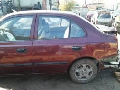 Дверь задняя левая  Hyundai Accent 2007 г.
