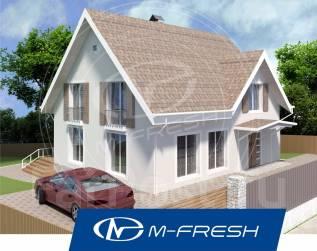 M-fresh Adrenaline! -зеркальный (Посмотрите проект комфортного дома! ). 200-300 кв. м., 1 этаж, 4 комнаты, бетон