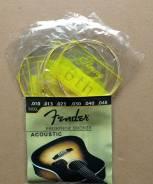 Струны «Fender» для акустической гитары