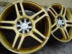 Огненное Золото =Racing Sparko D-Spec= R17 Japan Б/Пробега [VSE-4]1668. 7.0x17, 4x100.00, 4x114.30, ET35