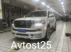 Обвес кузова аэродинамический. Toyota Land Cruiser, UZJ200W, VDJ200, URJ202W, URJ200, URJ202, UZJ200. Под заказ