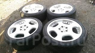 Комплект разношироких колес R18. 8.0/9.0x18 5x114.30 ET30/38