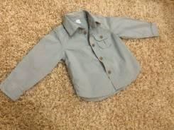 Рубашки джинсовые. Рост: 68-74, 74-80, 80-86 см
