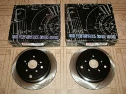 Диски тормозные задние StopTech Sport Slotted 126.47029SL/126.47029SR